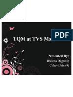 TQM at TVS Motors