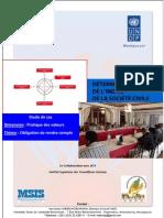 Détermination de l'indice de la société civile - Pratique des valeurs (PNUD, CIVICUS, MSIS, CNPC - 2011)