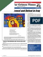 War Crimes Times Vol. IV No. 1 Winter, 2012