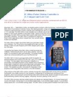 Servo2Go Galil DMC-300xx New Product Press Release