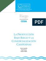 LA PRODUCCIÓN BAJO RIEGO Y LA COMERCIALIZACIÓN CAMPESINAS
