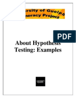 B_About Hypothesis Testing Examples