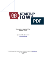 Start Up Iowa Regional Plan