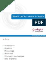 Uso de la red social Linkedin en España