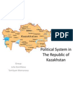 Political System in Kazahstan