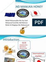 Global Issue Presentation NZ Honeyland Manuka