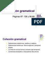 Cohesión gramatical