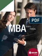 Folleto del MBA Tiempo Parcial 2012-I