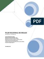 Plan Nacional de Ingles