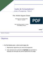 algoritmos e fluxogramas