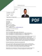 Dave Kissoondoyal Resume