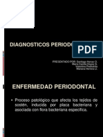 DIAGNOSTICOS PERIODONTALES corregido
