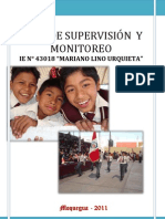Plan de Supervision y Monitoreo 2011