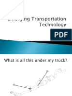 Emerging Transportation Technology