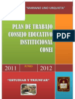 Plan de Trabajo Conei 2011 -2012