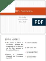 Eprg Matrix