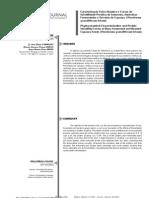 Caracterização Físico-Química e Curvas de