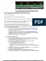 Fighting Sioux Petition and Instructions