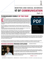communication department newsletter