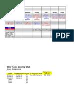 2012 Mowing Schedule