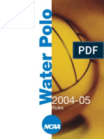 2004 Water Polo Rules