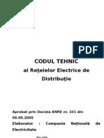 Codul Tehnic Al Reţelelor Electrice de Distribuţie