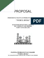 Proposal Masjid NURUL HUDA SIDAMUKTI, ADISANA, BUMIAYU