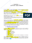 Chap 1 Concept Du Droit Enjeux Et Difficultés