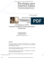 Imprimir - Psicología para América Latina. Revista de la Unión Latinoamericana de Entidades de Psicología