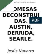 Navarro Reyes, Jesus - Promesas Deconstruidas Derrida, Searl, Austin