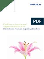 Checkliste Zu Ausweis Deloitte IAS Plus