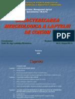 Caracterizarea Merceologica a Laptelui
