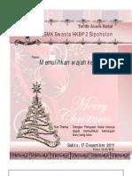 Acara Natal SMK HKBP 2 Sipoholons