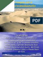 Mediul Temperat Arid Al Deserturilor Si Semideserturilor