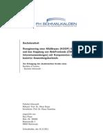 Reengineering einer Middleware (KOOP) für die transparenteund lose Kopplung von WebFrontends (CMS, Extranet- undInternetanwendungen) mit Komponenten verschiedener java-basierter Anwendungsbackends