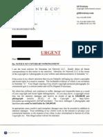 Zvulony Settlement Demand Letter