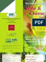 Wine Cheese Brochure