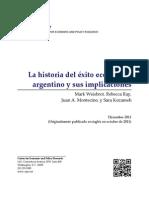 La historia del éxito económico argentino y sus implicaciones