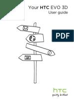 Sprint HTC EVO 3D Manual