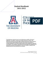 com phoenix student handbook lcme 2011-12