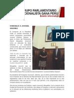 Bancada Nacionalista Gana Perú - Boletin Nº 06