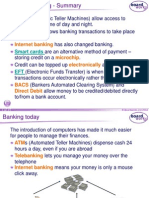 b. Finance and Banking