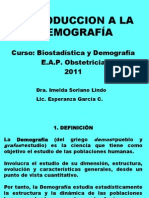 CLASE DEMOGRAFIA 2011