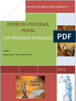 Derecho Procesal Penal-especiales