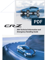CRZ IMA Technical Information