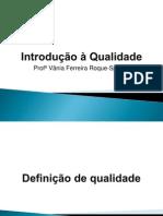 AULA 1 - Introdução à Qualidade