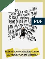 VIOLENCIA DE GÉNERO. Guia de acción pastoral.