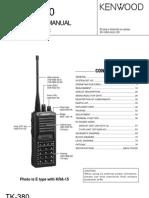 TK-380 Service Manual