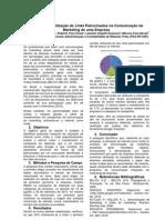 Impactos da Utilização de Links Patrocinados na Comunicação de Marketing de uma Empresa