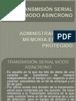 TRANSMISIÓN SERIAL MODO ASINCRONO